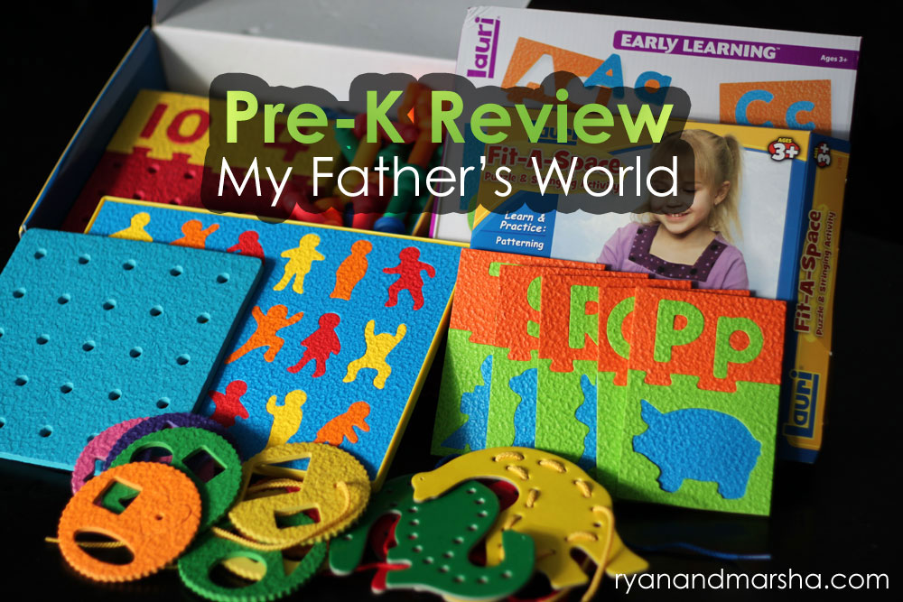 My Father's World Pre-K Review