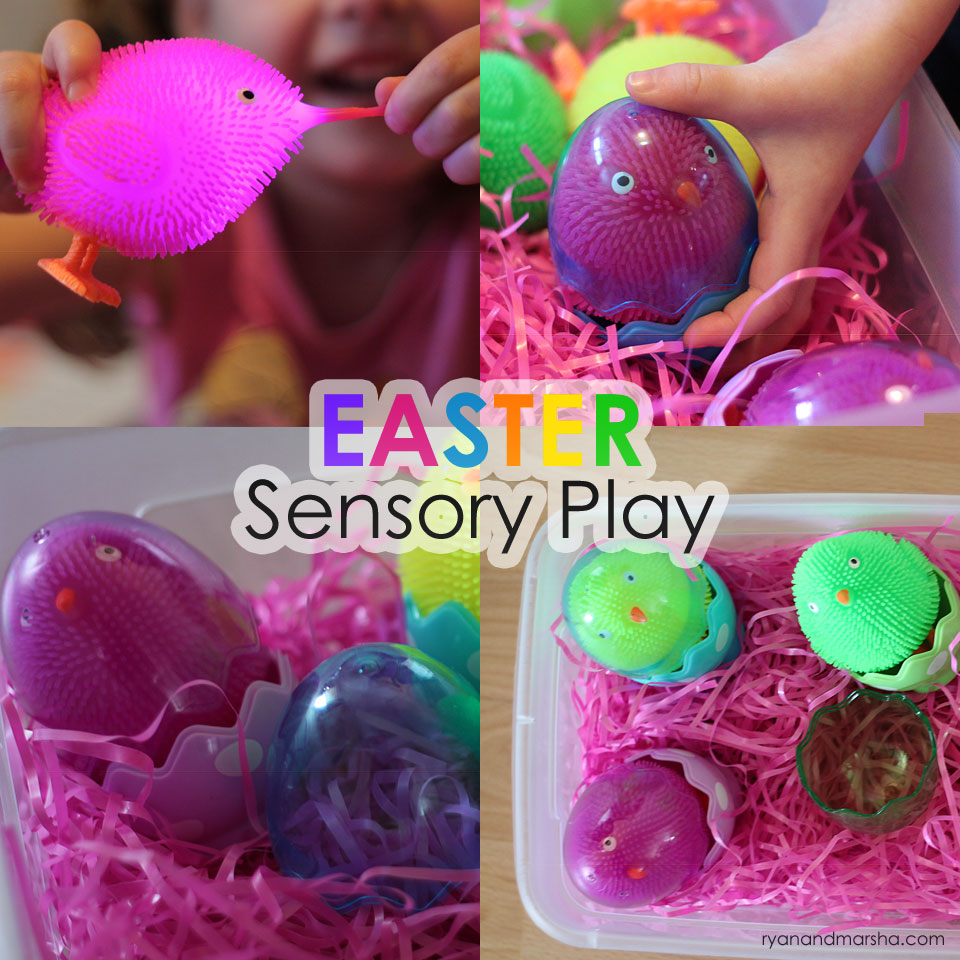 Easter Chicks Sensory Play