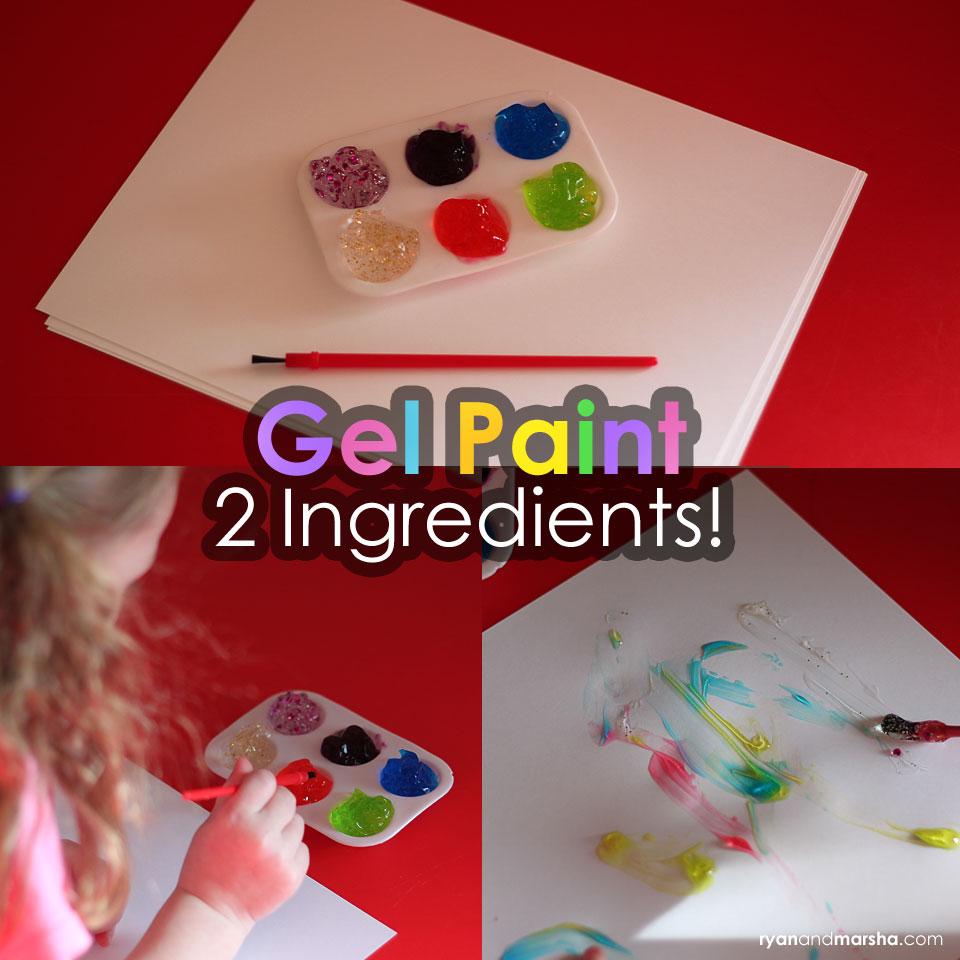 2 Ingredient Gel Paint