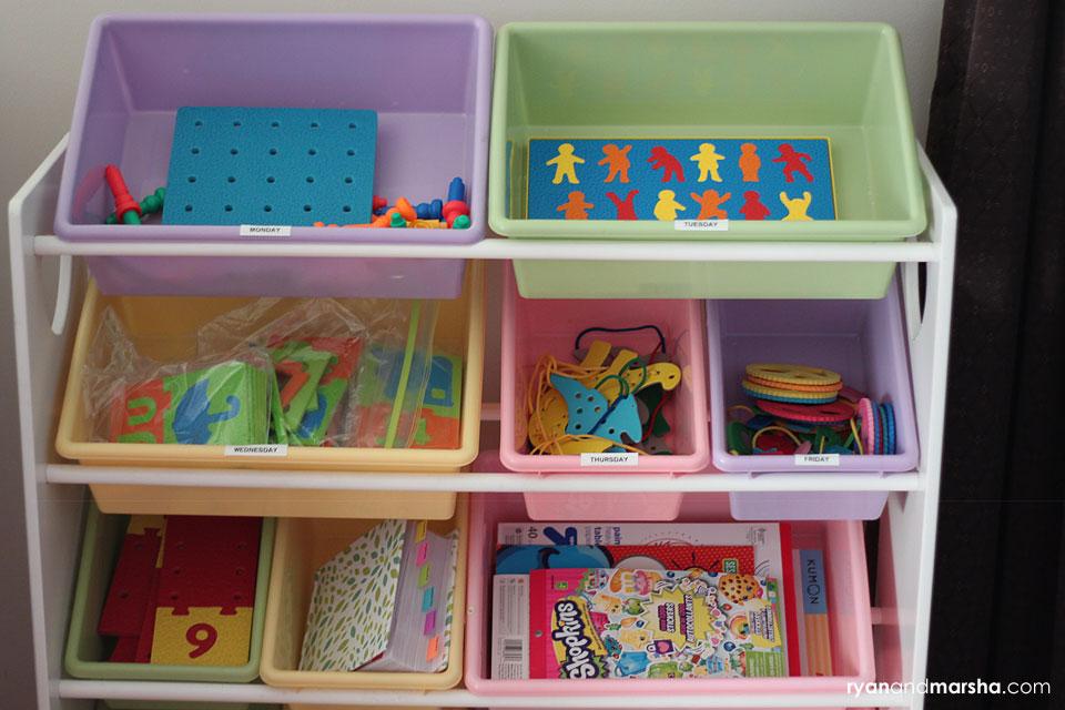 prek-homeschool-organize