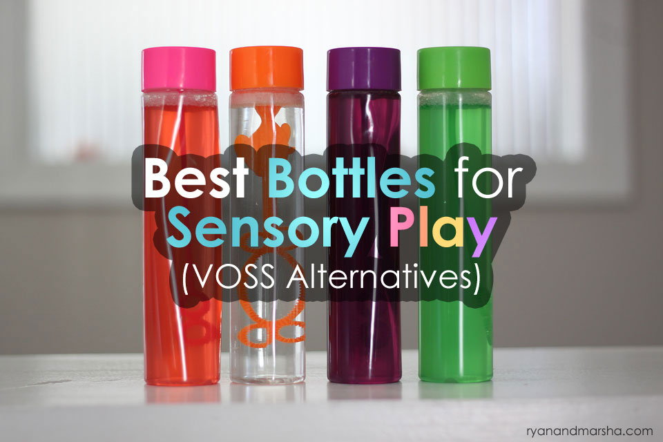 Best Bottles for Sensory Play (VOSS Alternatives)