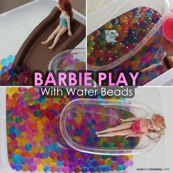 Barbie Play with Water Beads
