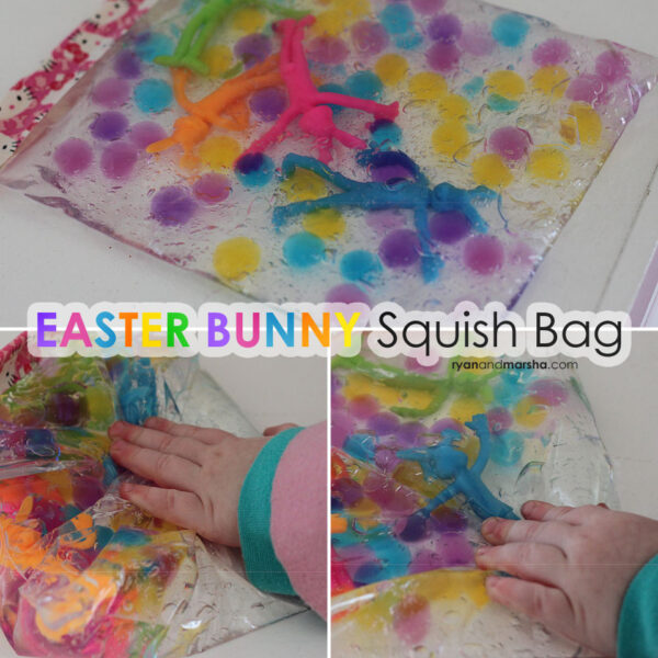 Easter Bunny Squish Bag