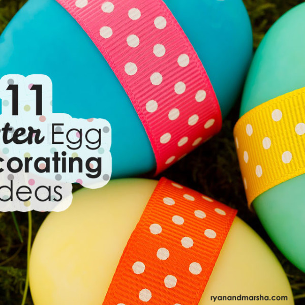 11 Easter Egg Decorating Ideas