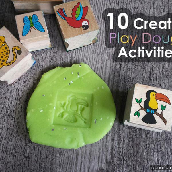 10 Creative Play Dough Activities