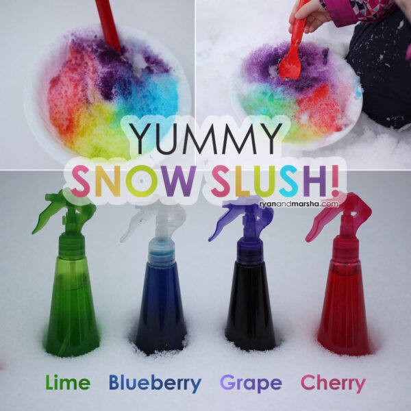 Yummy Snow Slush