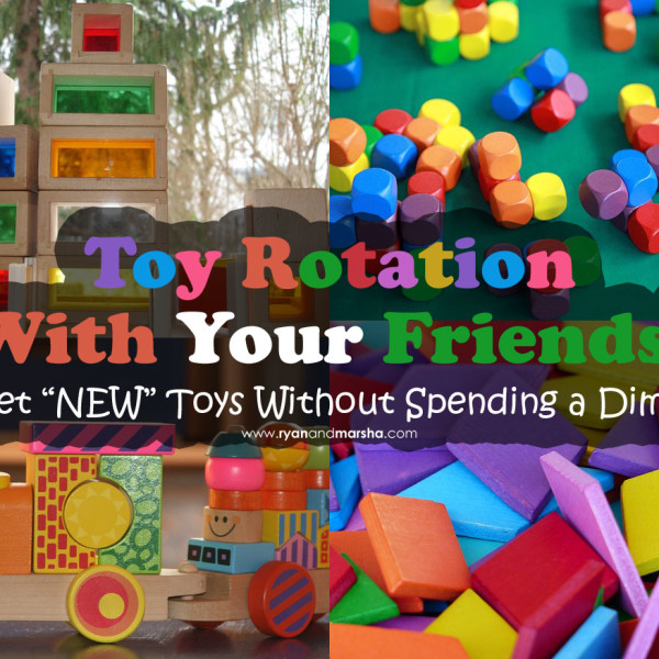 How to Do a Toy Rotation With Your Friends