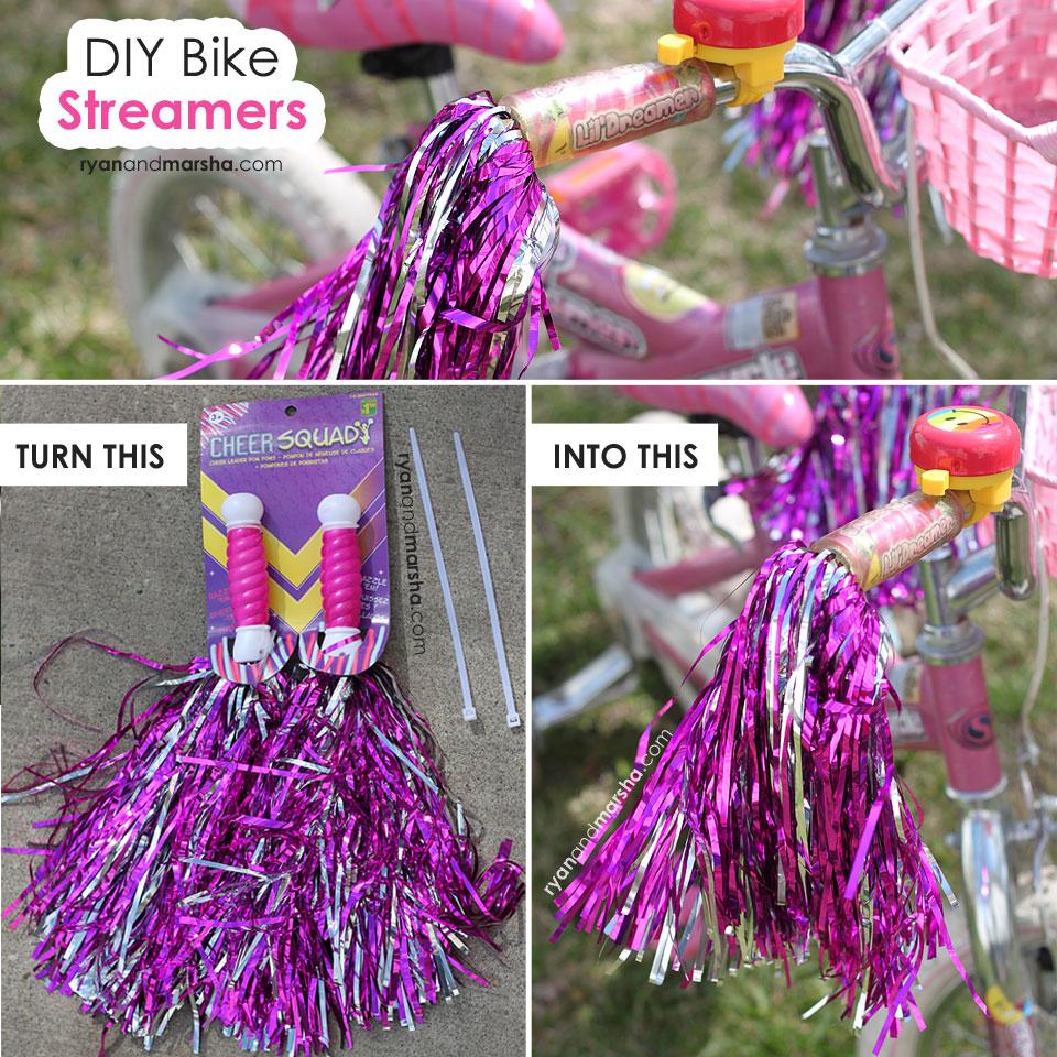 DIY Bike Streamers