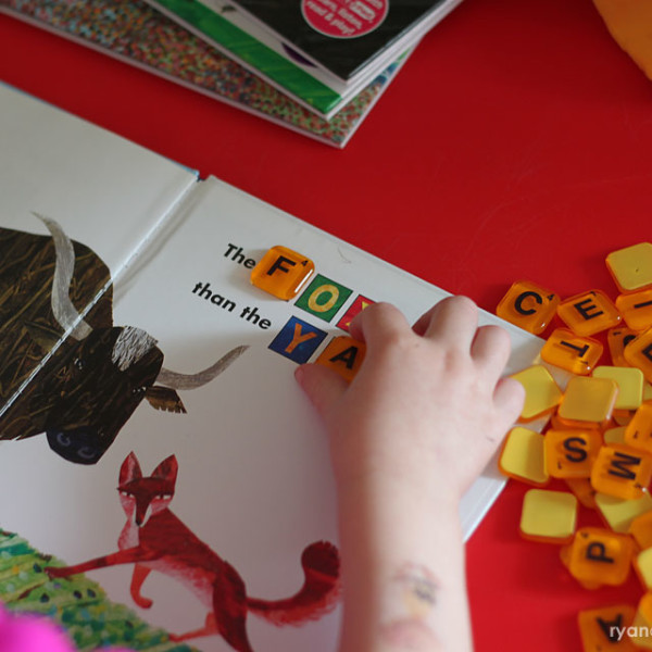 Letters & Simple Words Activity