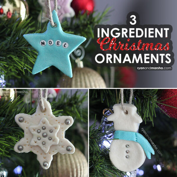 3 Ingredient Christmas Ornaments