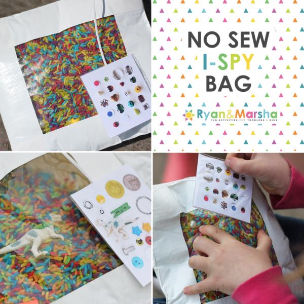 No Sew I Spy Bag