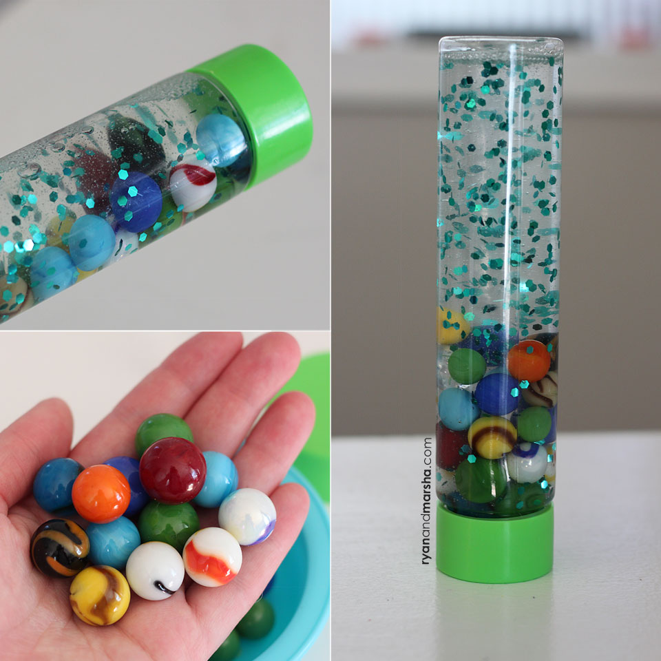 My Happiness Used To Depend On Having My Videos Go Viral: Marble Sensory Bottle